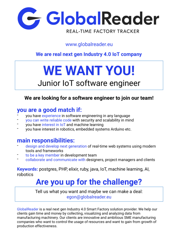 We are hiring! Interested? - GlobalReader